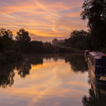 Caen Hill Locks Sunrise