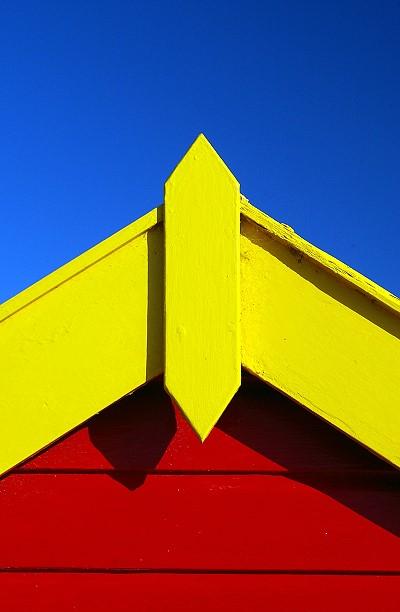 Beach Hut (abstract)