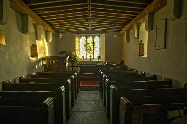 Inside Bentor Church