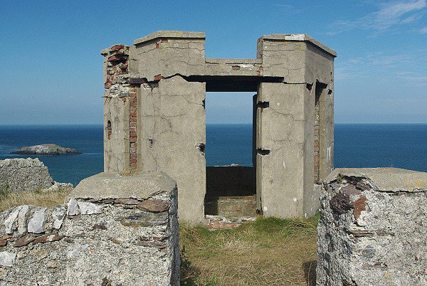 Remains of a summer house