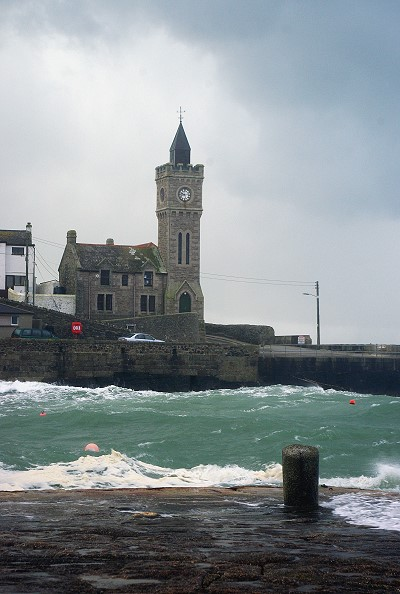 Rough Seas at Porthleven