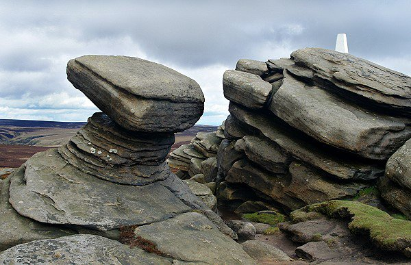 Summit of Back Tor (538m)