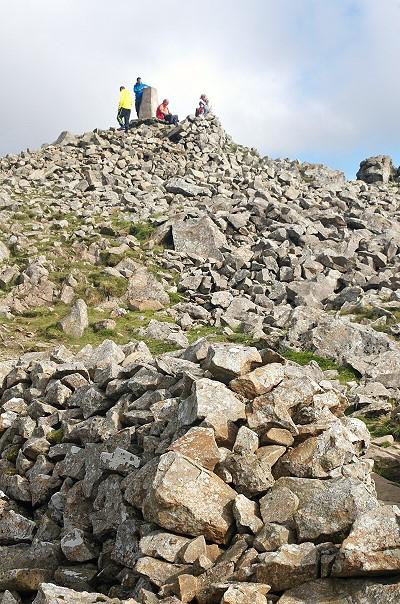 The Summit - Penygadair 893m