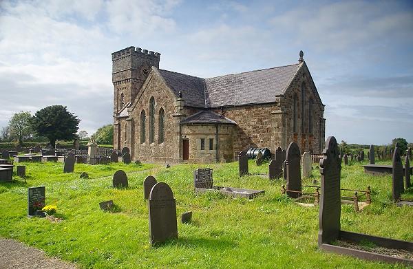 Church at Brynsiencyn