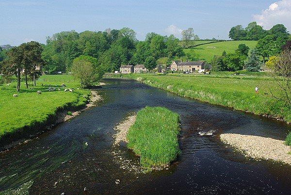 River Ribble, Sawley, Lancashire