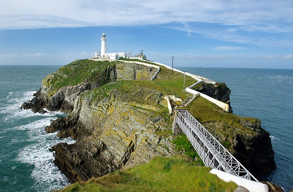 South Stack, from above the bridge
