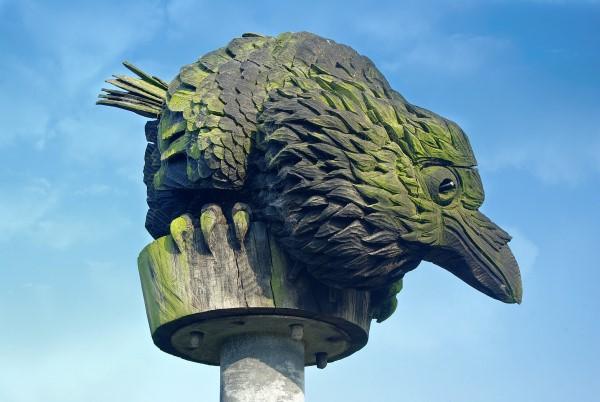 Bird Sculpture (detail)