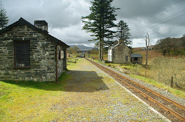 The Station at Dduallt.