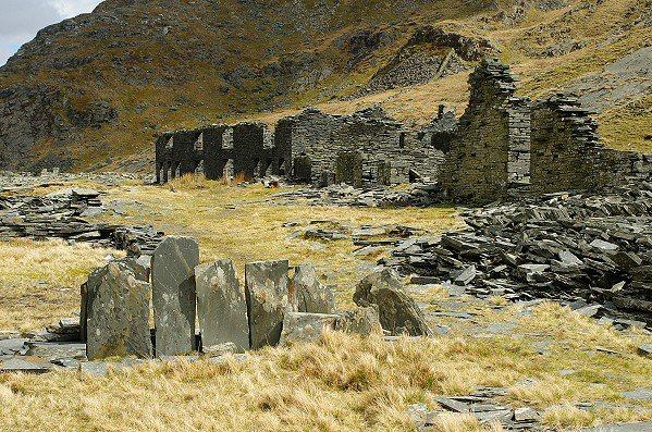 Slate Barrack Remains