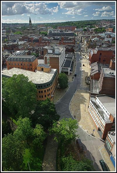 A view down Churchgate.