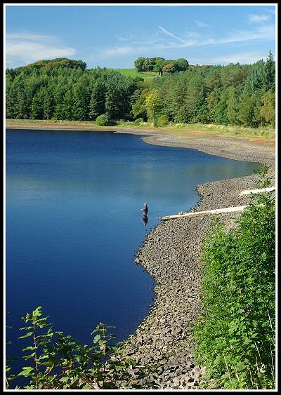 Fly Fishing on Entwistle Reservoir