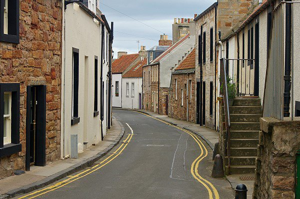 The road to Cellardyke