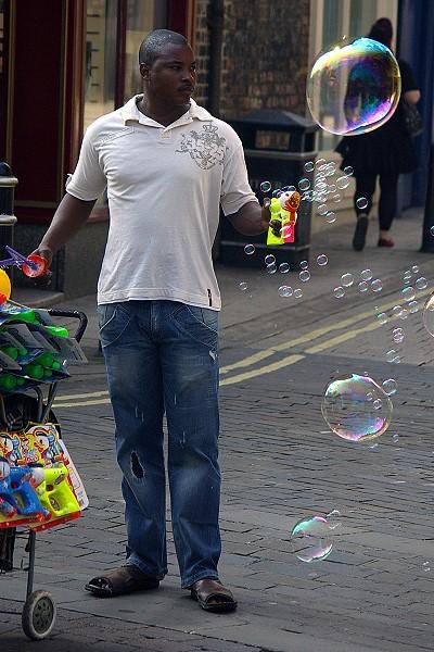 The Bubble Salesman