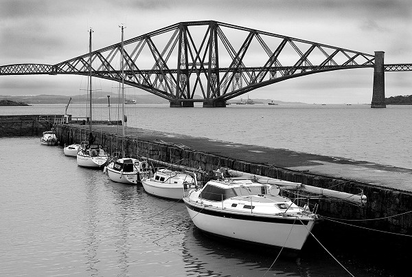 South Queensferry and the Forth Rail Bridge