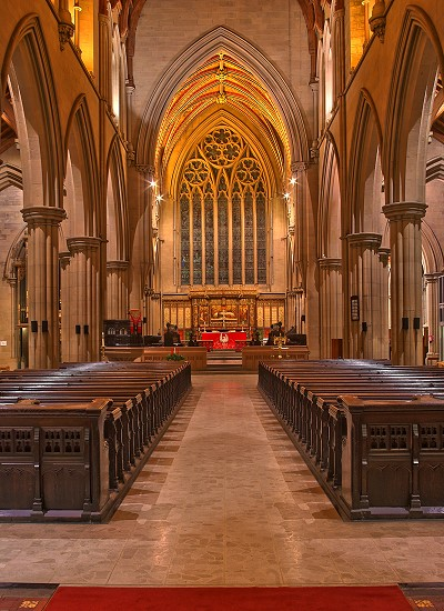 Interior - Bolton Parish Church
