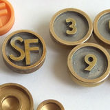 Clock numeral prototypes