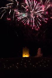 Somerset, England: Bruton – 'Spiral of Light' Festival Fireworks 10