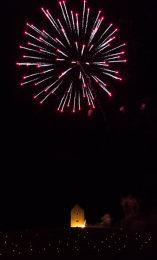 Somerset, England: Bruton – 'Spiral of Light' Festival Fireworks 11