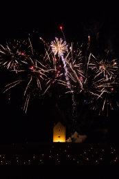 Somerset, England: Bruton – 'Spiral of Light' Festival Fireworks 12