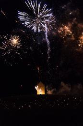 Somerset, England: Bruton – 'Spiral of Light' Festival Fireworks 15