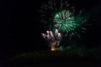 Somerset, England: Bruton – 'Spiral of Light' Festival Fireworks 21
