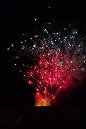 Somerset, England: Bruton – 'Spiral of Light' Festival Fireworks 22