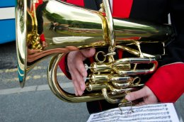 Brass Band #3 - instrument close-up