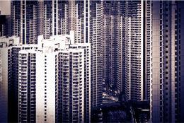 HONG KONG: densely packed towers