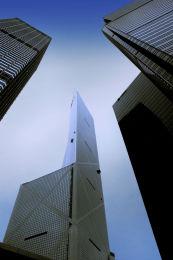HONG KONG, CHINA: Sycrapers