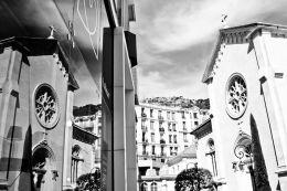 MONACO, MONTE CARLO: Reflecting Buildings