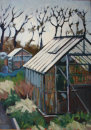 Allotments, Didsbury (Greenhouse) 1990