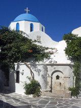 A Church in Paroikia (b).