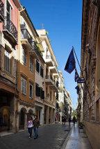 Corfu Town. (d)