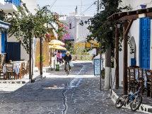 A street in Anti-Paros. (d).