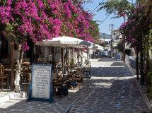 A street in Anti-Paros (a).