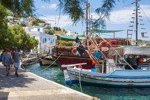 Agia Marina Harbour. (a).