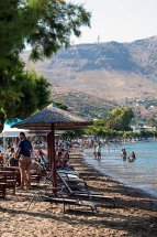 Alinda Beach, Leros. (a).
