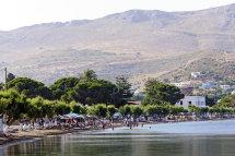 Alinda Beach, Leros. (b).