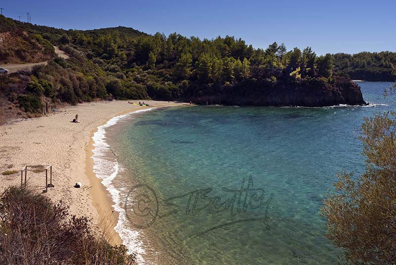 Aretes Beach, Sithonia Peninsula.