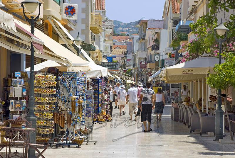 Argostoli Town.