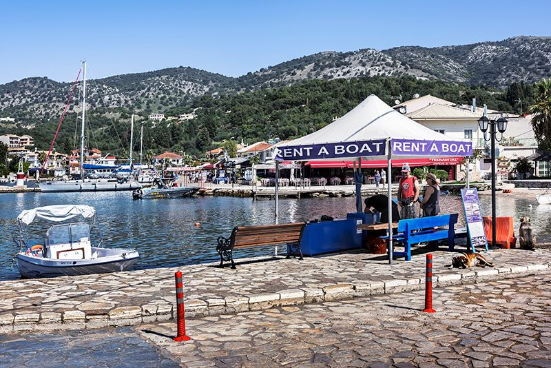 Boat Hire at Sivota Harbour