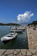 Boats Moored at Sivota Harbour (d)
