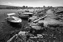 Breakwater at Roda, Corfu