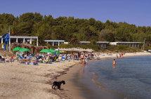 Chrousou Beach Nr. Paliouri. (b).