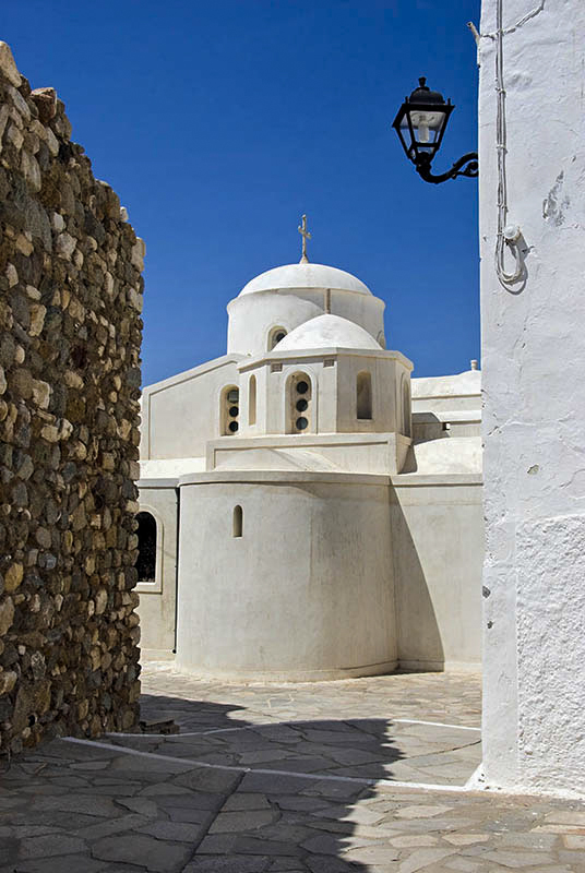 Church in Naxos Town.