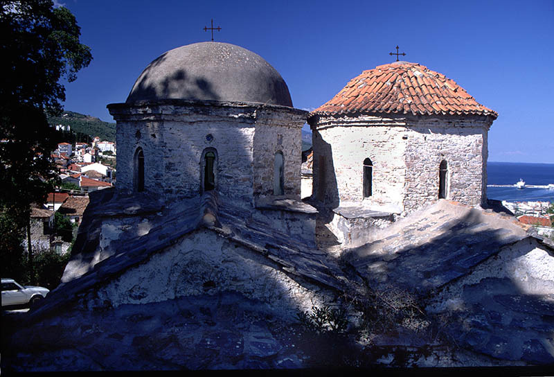 Church in Old Samos Town Dated 1799.(e)