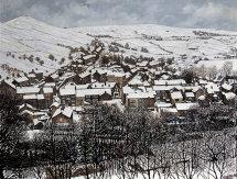 Delph Village in Winter