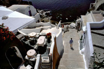 Down to the Port, Thira. (a).