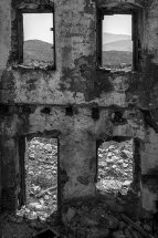Empty House in Micro Horio, Tilos.