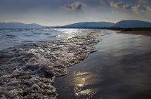 Evening at Kalamaki Beach.